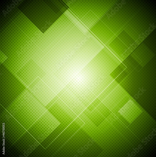 Abstract vibrant tech vector