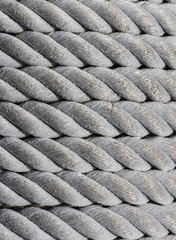 Old nautical rope, texture and background.