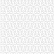 White seamless pattern with stylized anchors
