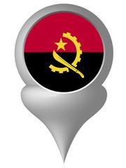アンゴラ  国旗 フレーム