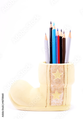 Pencil case figure