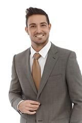 Portrait of elegant businessman