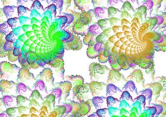 Coral carpet