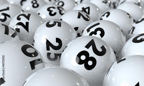 Obraz na Plexi Lottokugeln