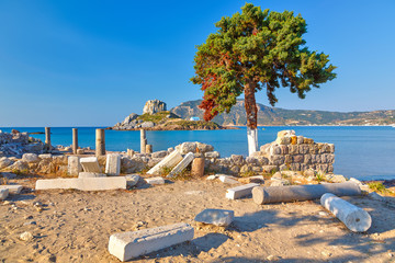 Ancient ruins on Kos