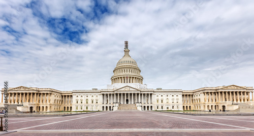 US Capitol panoramic view