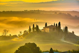 Fototapety Tuscany at early morning