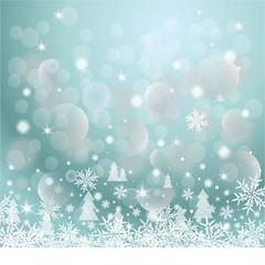 Christmas banner, gray