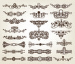 Vintage Decorative Scroll Collection