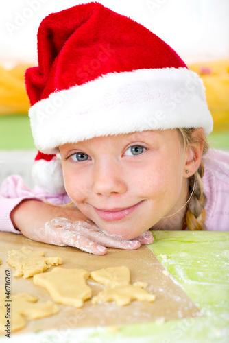Nikoläusin in der Weihnachtsbäckerei