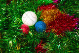toys for embellishment cristmas spruce as symbol holiday poster