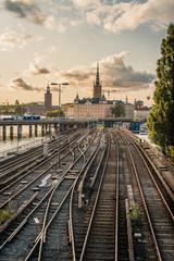 Railway to the city