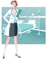 Female Doctor-Healthcare Practitioner
