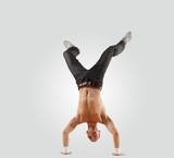 Modern style dancer posing - 46719843