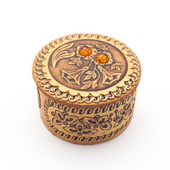 Beautiful birch bark box for jewelry