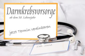Darmkrebsvorsorge ab dem 50. Lebensjahr