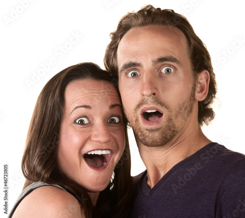 Surprised Couple