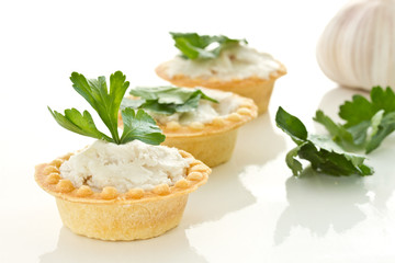 tartlets with lard