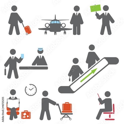 Air terminal icons