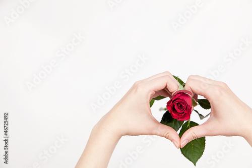 Hand auf´s Herz