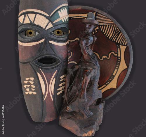 Fototapeten,afrika,spirit,voodoo,auge