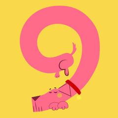 A dog makes number nine