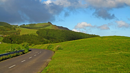 ROAD IN THE AZORES