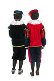 Dutch black Piet backs