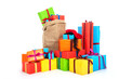 Many presents for Dutch Sinterklaas eve