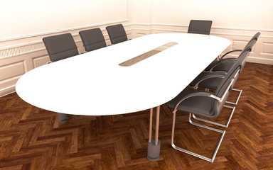 meeting room empty