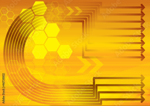 Abstract technology background, vector eps10