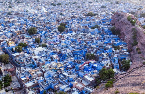 "Jodhpur the ""blue city"" in Rajasthan state in India"