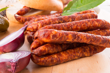 frankfurterki world to known and beloved thin small sausages