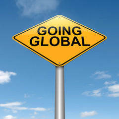 Going global.