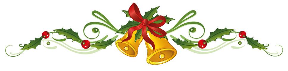 Glocken, Stechpalme, Weihnachten, Ilix, Jul