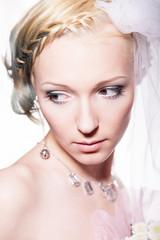 Невеста, фото в студии 4