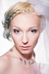 Невеста, фото в студии 3
