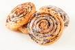 freshly baked cinnamon rolls