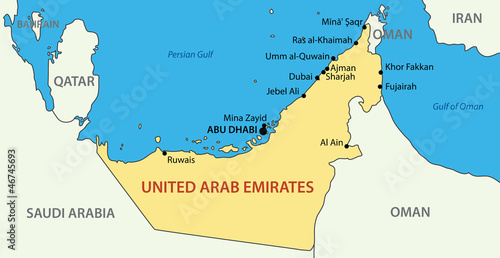 GamesAgeddon - United Arab Emirates - vector map - Lizenzfreie Fotos ...