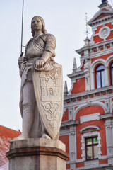 Saint Roland i Riga old town