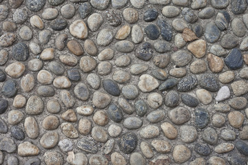 Stone pavement background