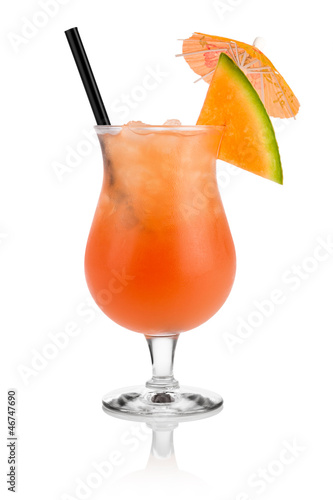 honey melon cocktail I