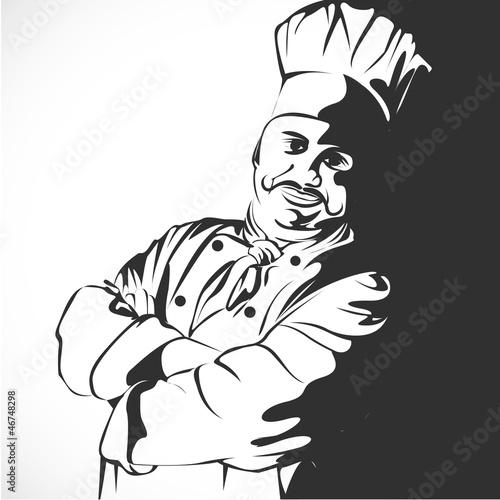boulanger p tissier chef cuisinier fichier vectoriel libre de droits sur la banque d 39 images. Black Bedroom Furniture Sets. Home Design Ideas