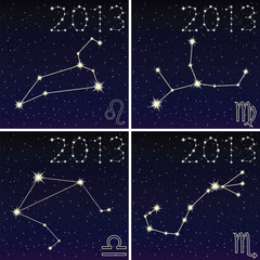 the constellation of leo, virgo, libra, scorpius 2013