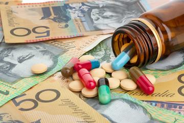Pills and Australian dollars