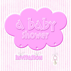 baby shower - invitation