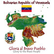 Venezuela South America national emblem map symbol motto