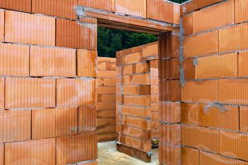 Hausbau in Ziegel Massivbauweise
