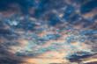 Wolkenstimmung am Abendhimmel