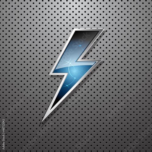 Lightning Bolt Quote Lightning Bolt Stock Image